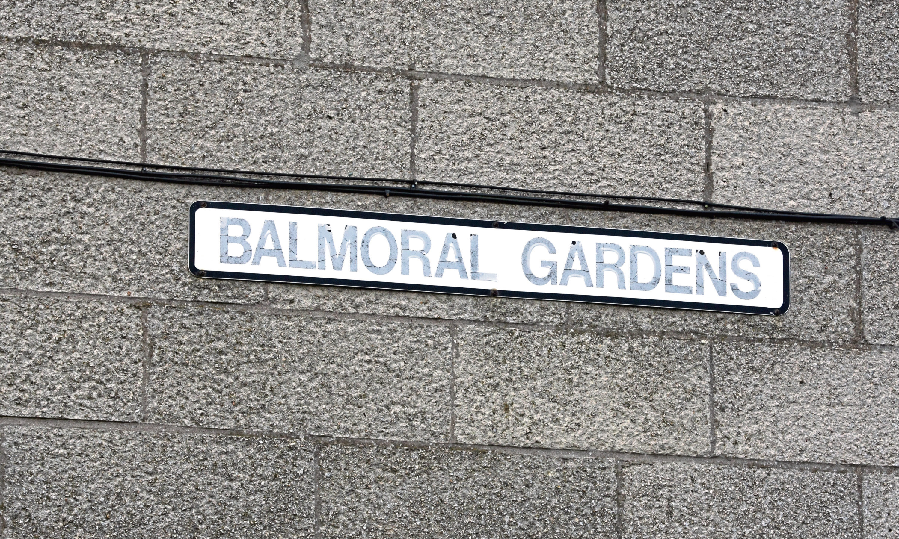 The offence took place in Dundee's Balmoral Gardens. (Stock image).