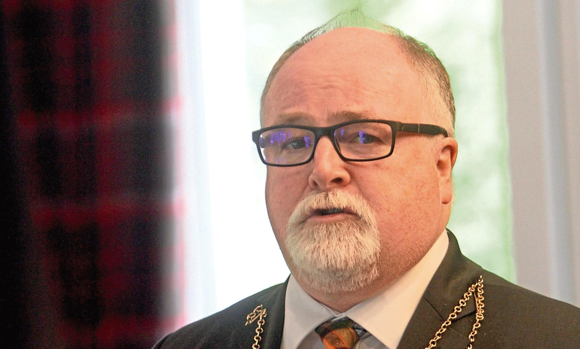 Deputy Lord Provost, Bill Campbell