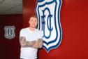 Dundee new signing, goalkeeper Jack Hamilton