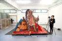 The pop-up theatre will go on display at the V&A