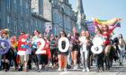 Grampian Pride included a march along Union Street in Aberdeen.