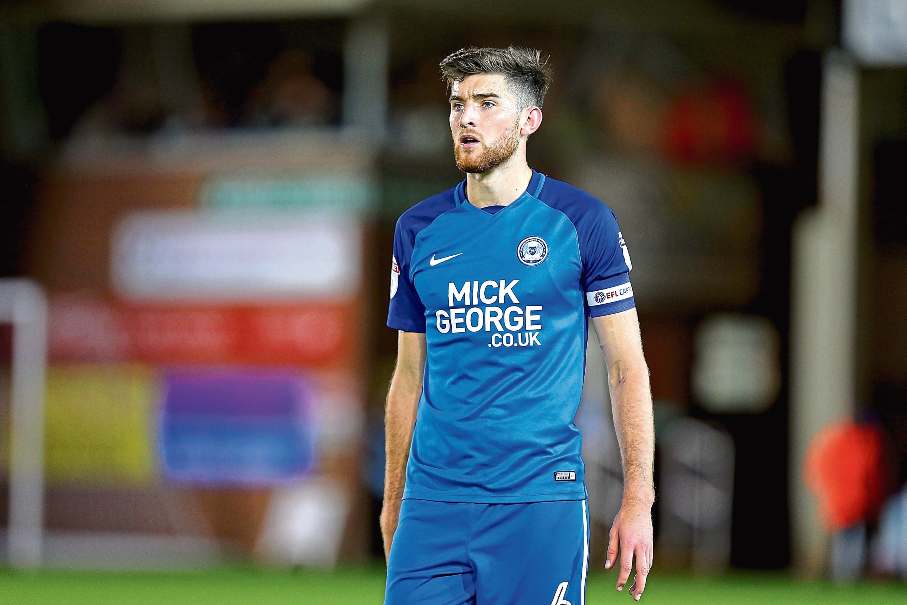 Peterborough skipper Jack Baldwin is wanted by Dundee
