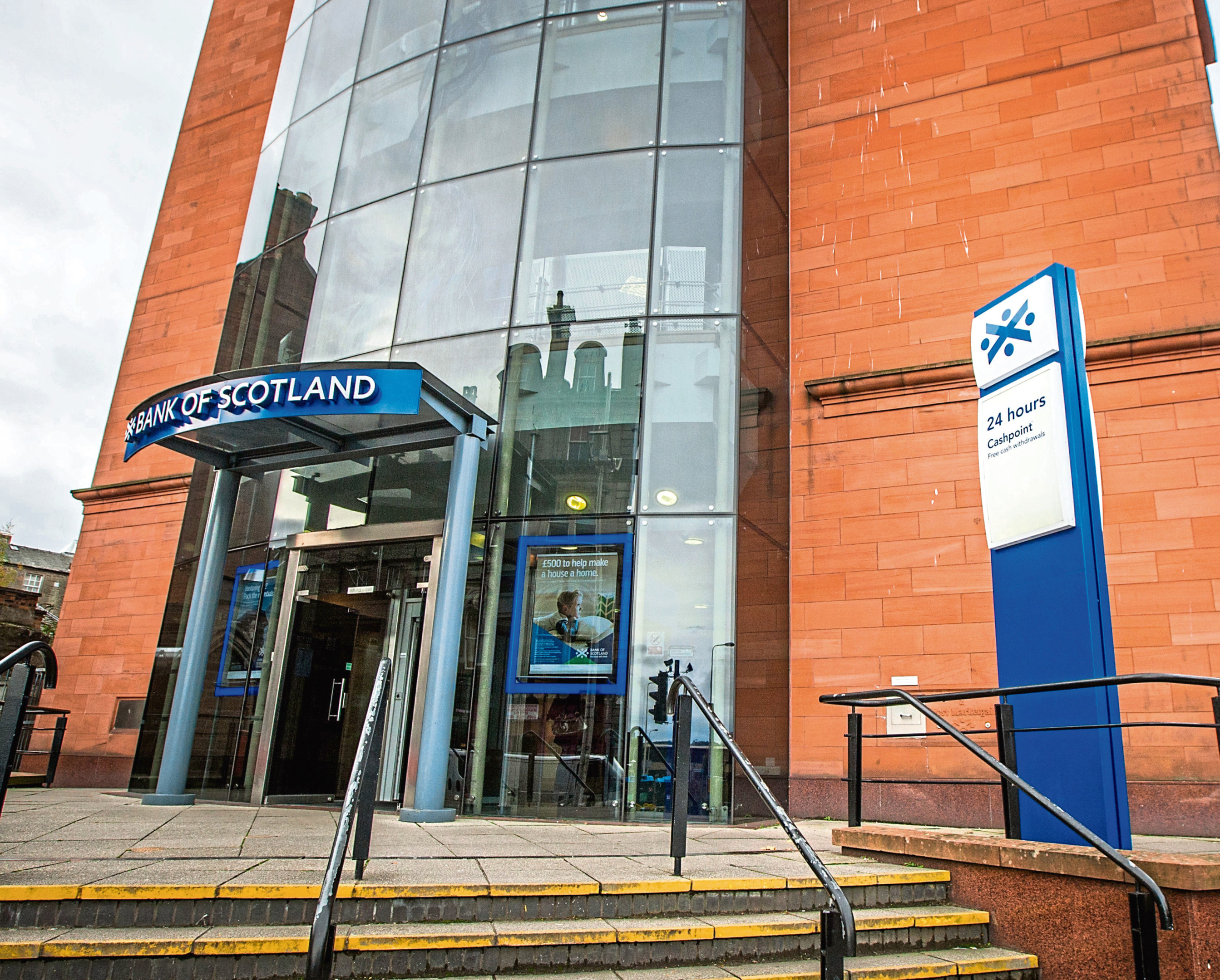 The Bank of Scotland on Marketgait