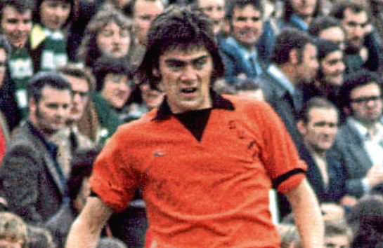Jackie Copland played at the heart of the Tangerines' rearguard from 1970-76.