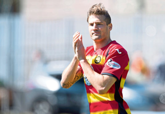 Frederic Frans could be on his way to Tannadice