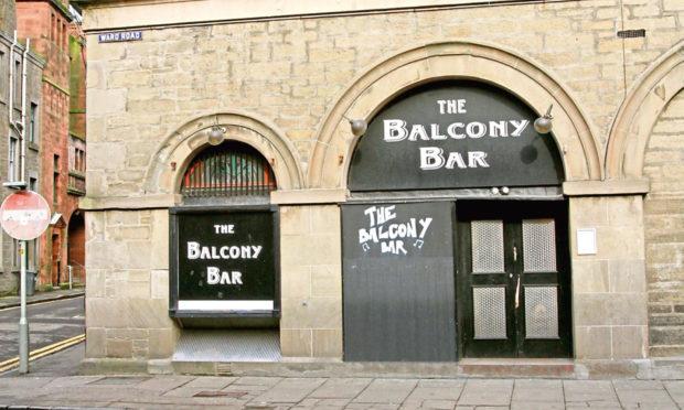 The Balcony Bar on Ward Road.