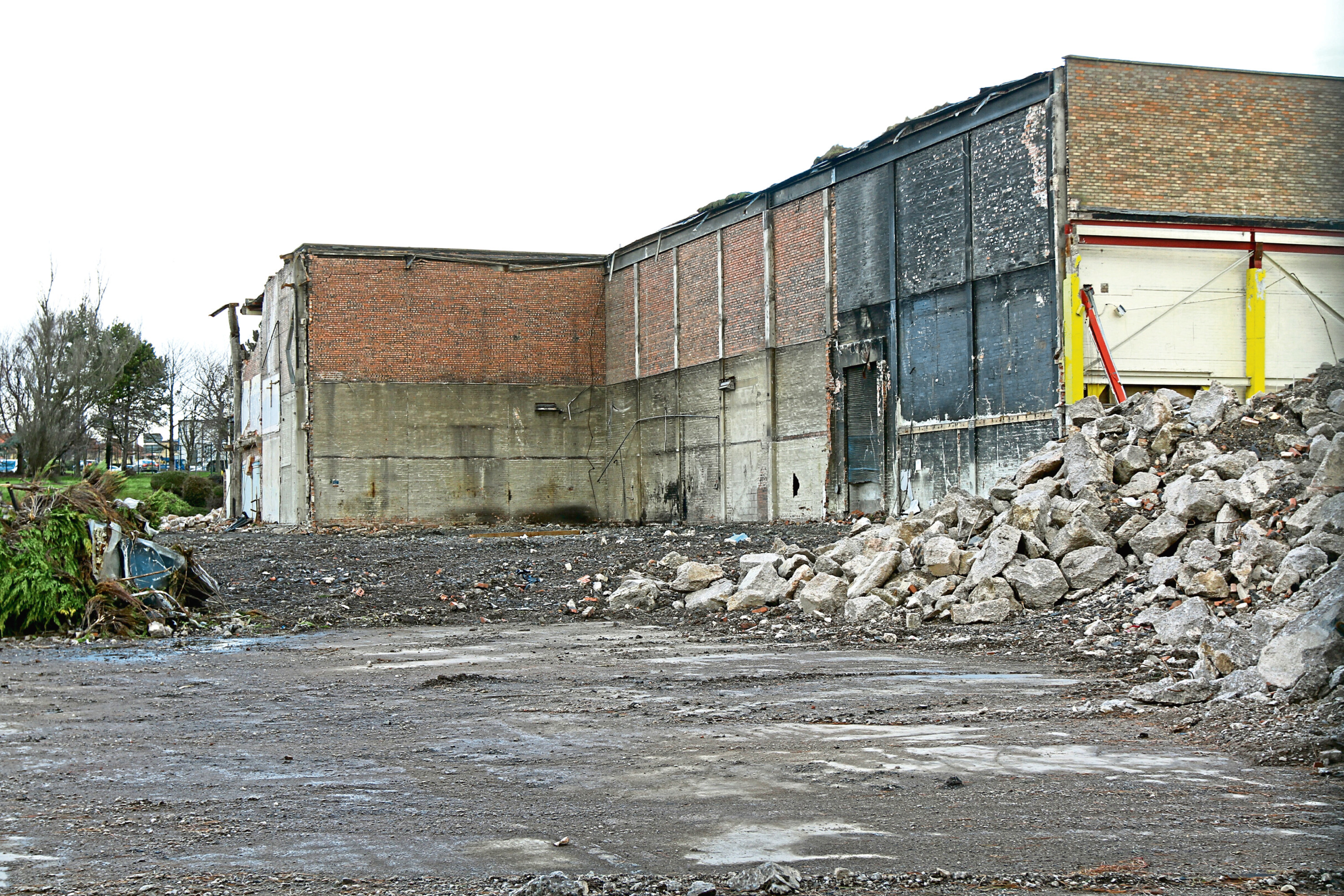 The former Stewart's Cream of the Barley plant may be a site for 84 new houses.