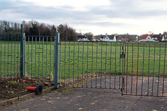 The former school site on Gillburn Road.