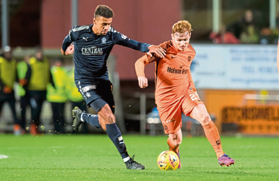 Dundee United midfielder Fraser Fyvie is in the midst of recovering from a serious and long-term knee injury.