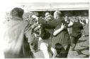 Emotional scenes at Muirton Park in 1962