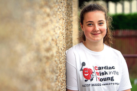 Abby Lang has campaigned for more cardiac screenings at schools.