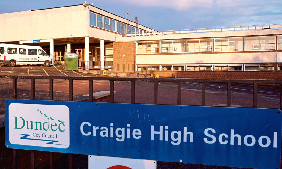 Craigie High School had planned to host their traditional Christmas review as a 'drive-in' style event.