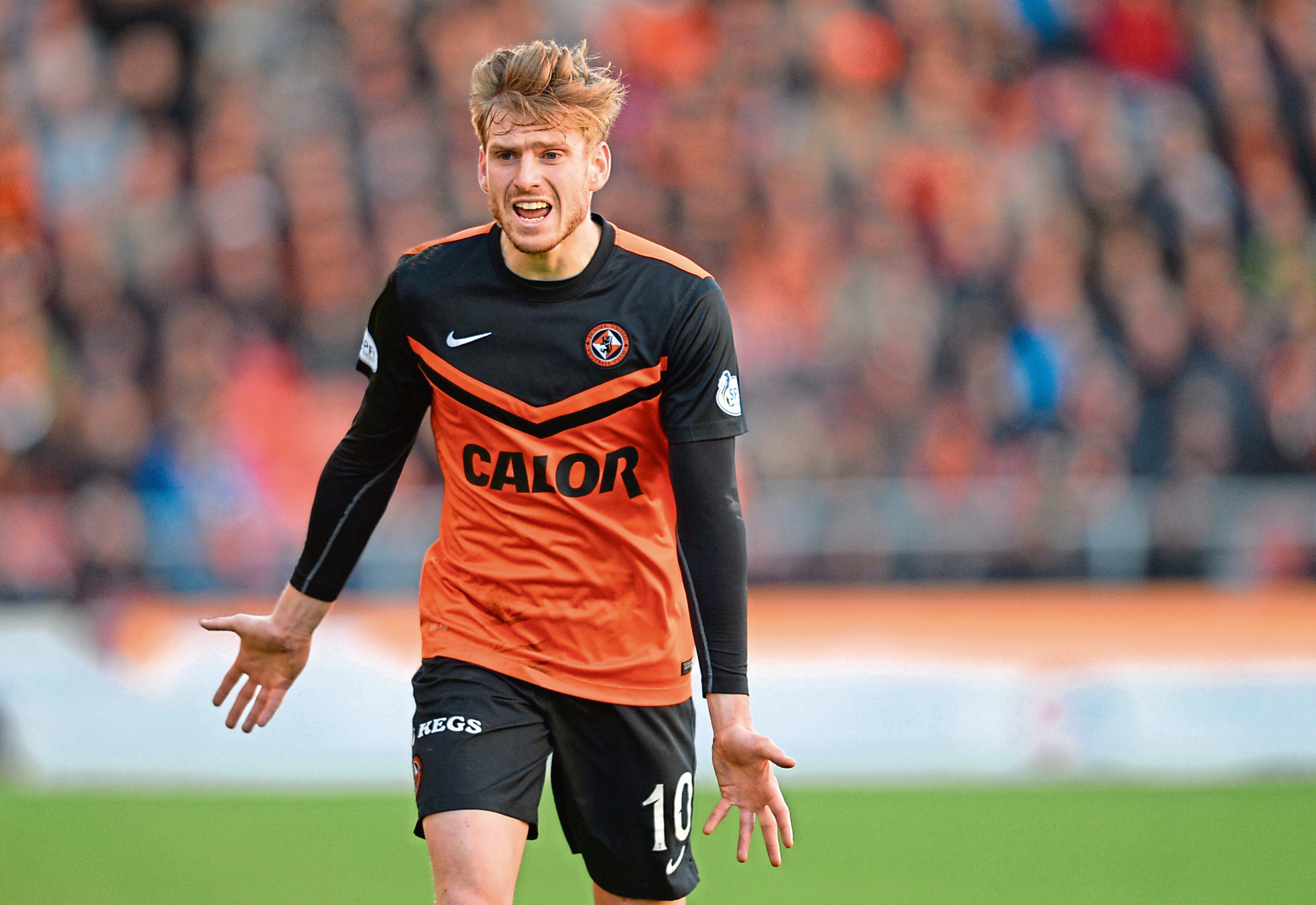 Former Dundee United man Stuart Armstrong.