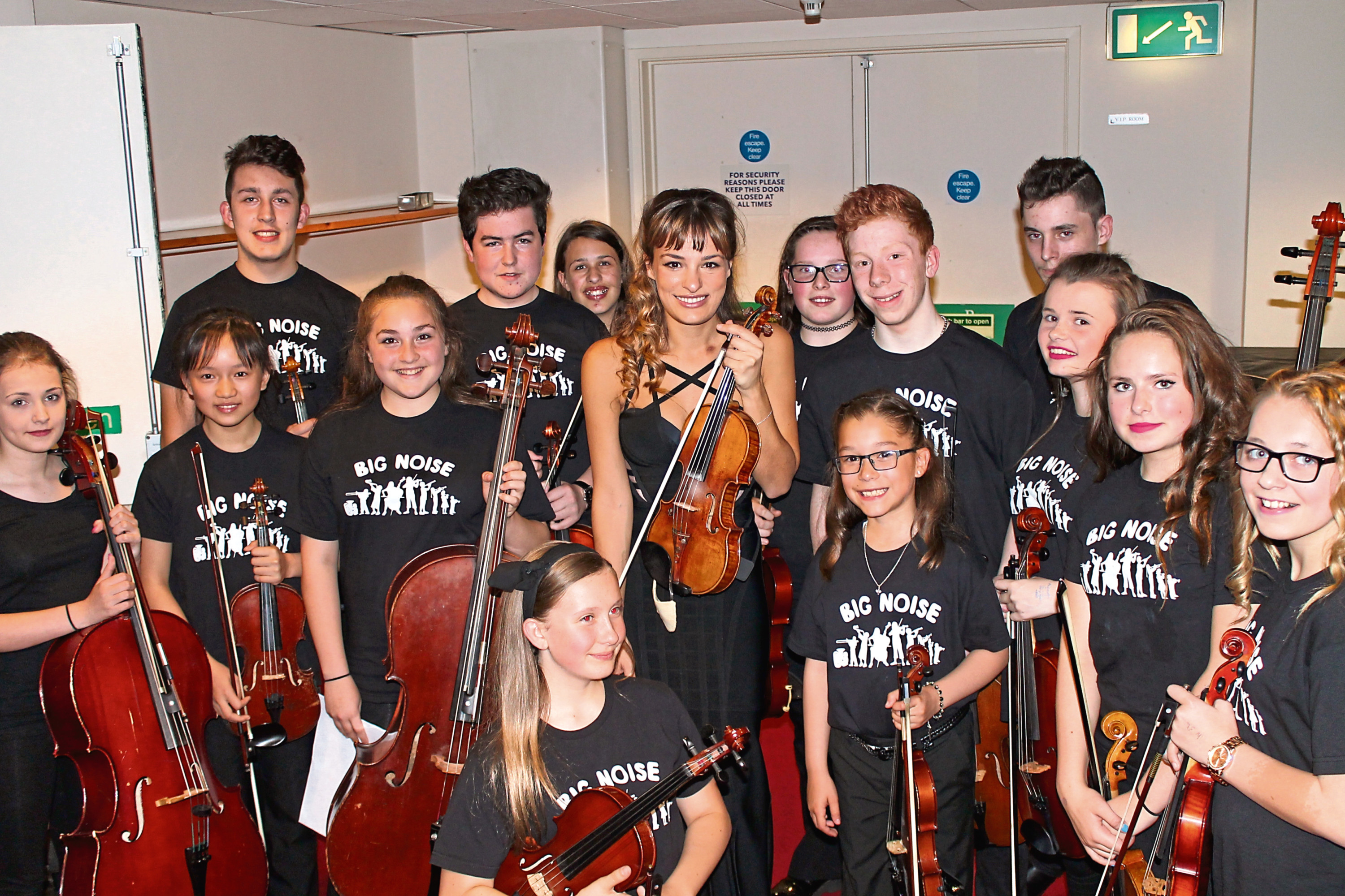 Renowned violinist Nicola Benedetti