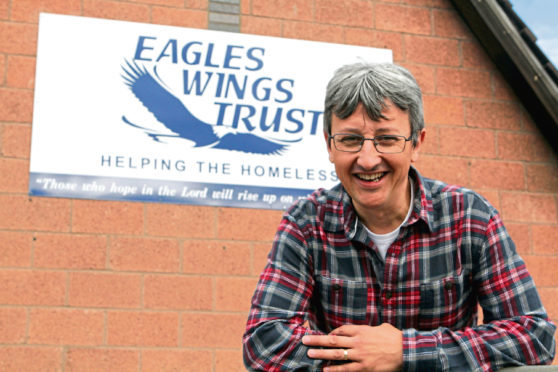 Mike Cordiner of Eagles Wings Trust