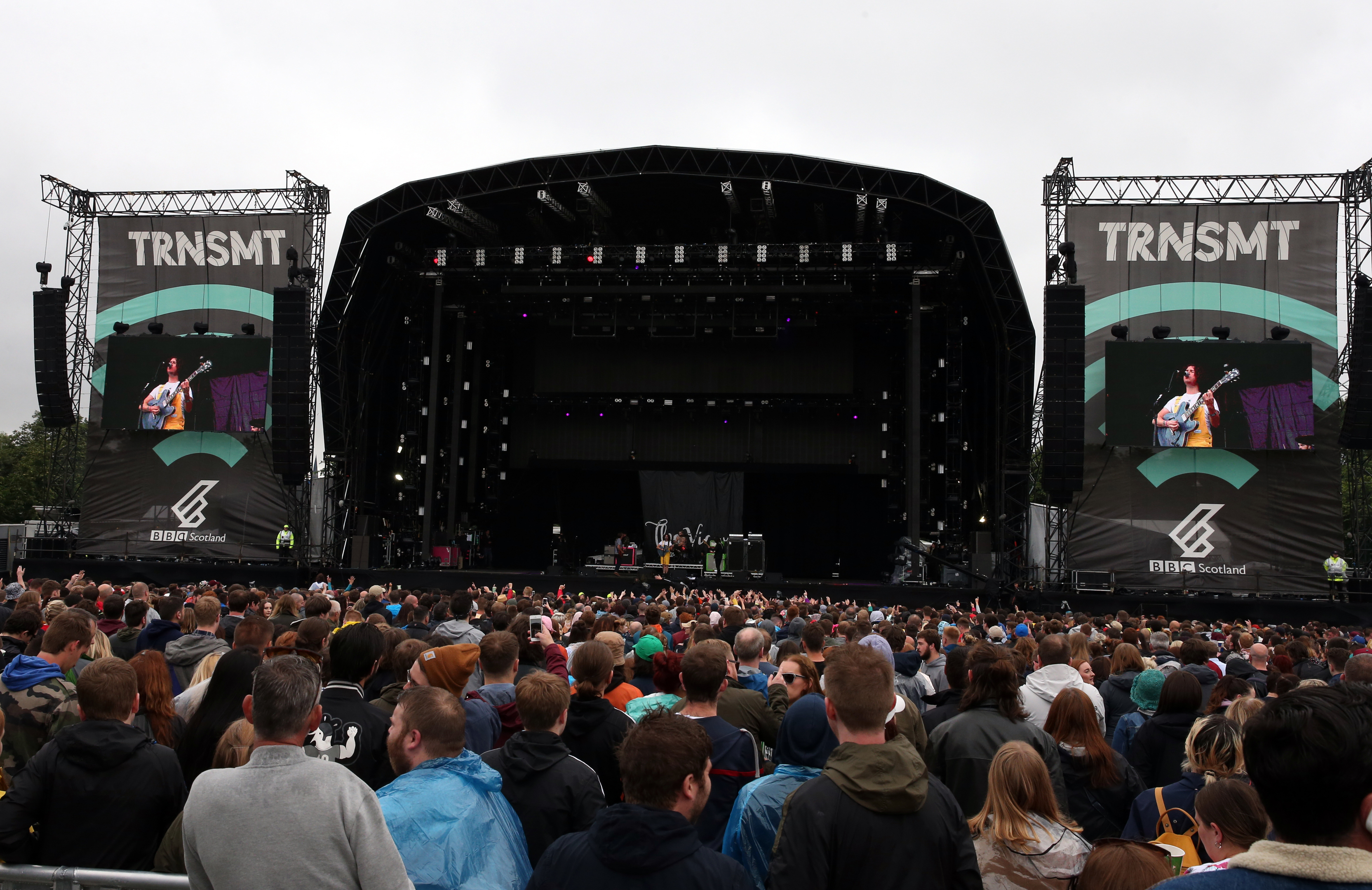 The Main Stage at the TRNSMT festival.