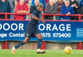 Elton Ngwatala made his Dundee debut in a 1-1 draw with Brechin City at Glebe Park on Friday night – playing as part of the second-half XI.