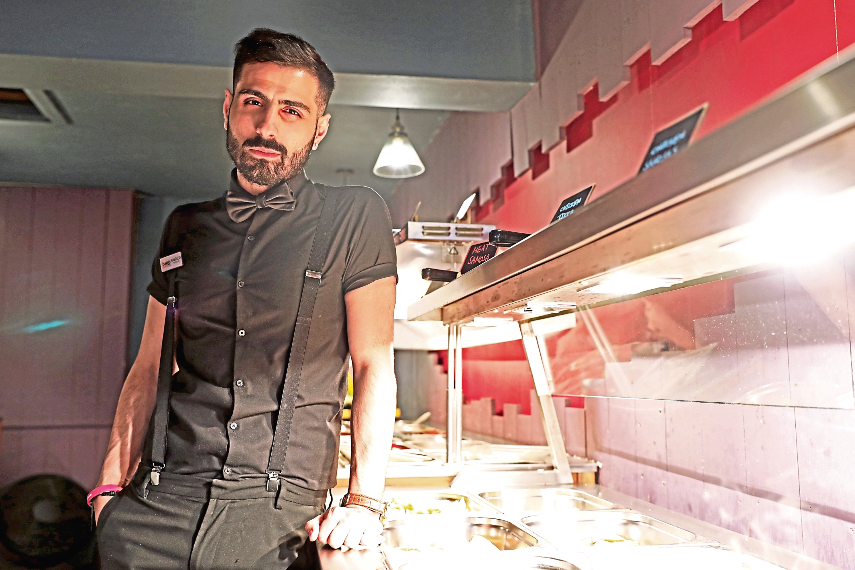Mahmud Reyani, manager of Sunny's in Whitehall Crescent