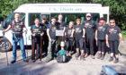 Asda Kirkton staff who climbed Ben Nevis