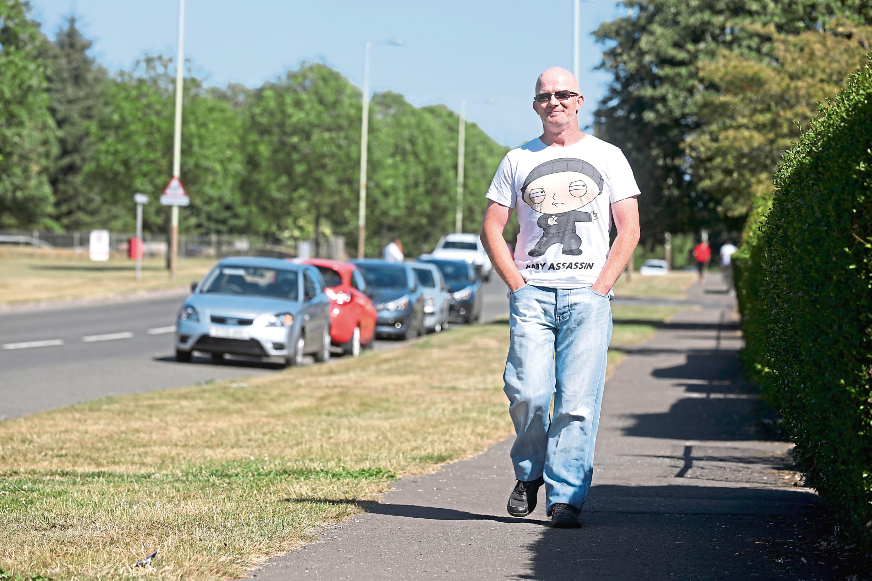 Fountainbleau Drive resident Brian Cunningham.