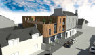 An artist's impression of how the development on King Street in Broughty Ferry will look if approved by Dundee City Council planners.