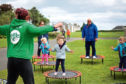 A ParkLives class in Broughty Ferry last year.