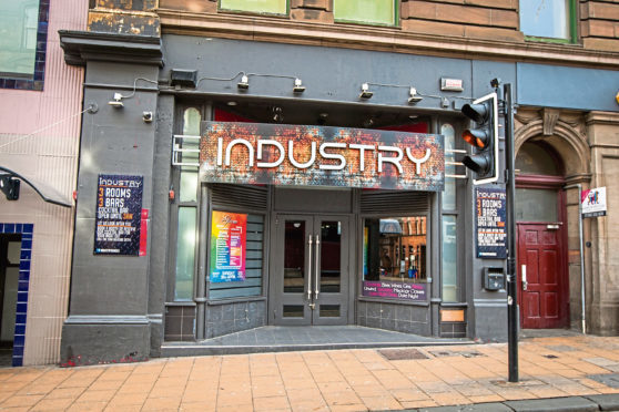 Industry nightclub on Seagate.