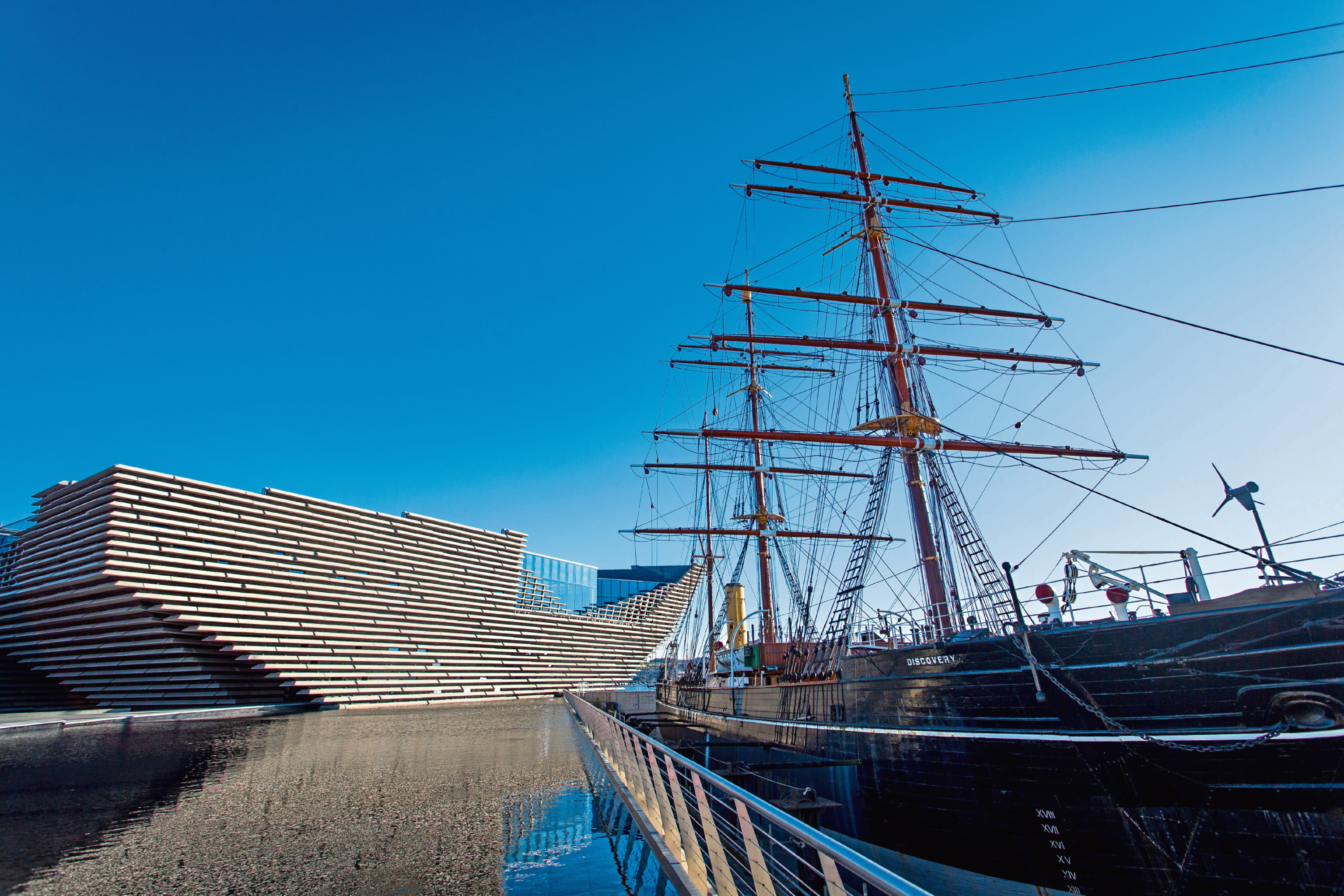 The V&A and RRS Discovery.