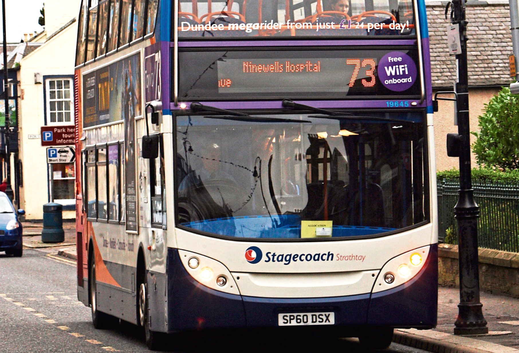 A 73 Stagecoach bus.