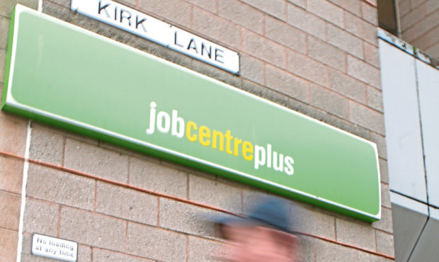 Dundee Job Centre. (Stock image).