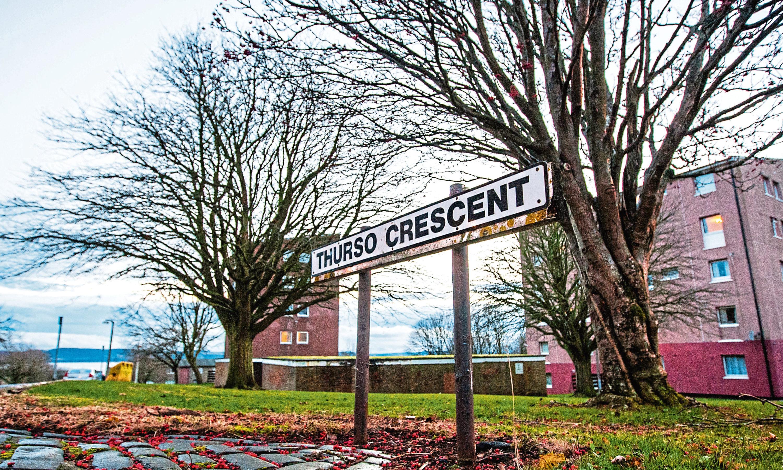 Thurso Crescent (Stock image).