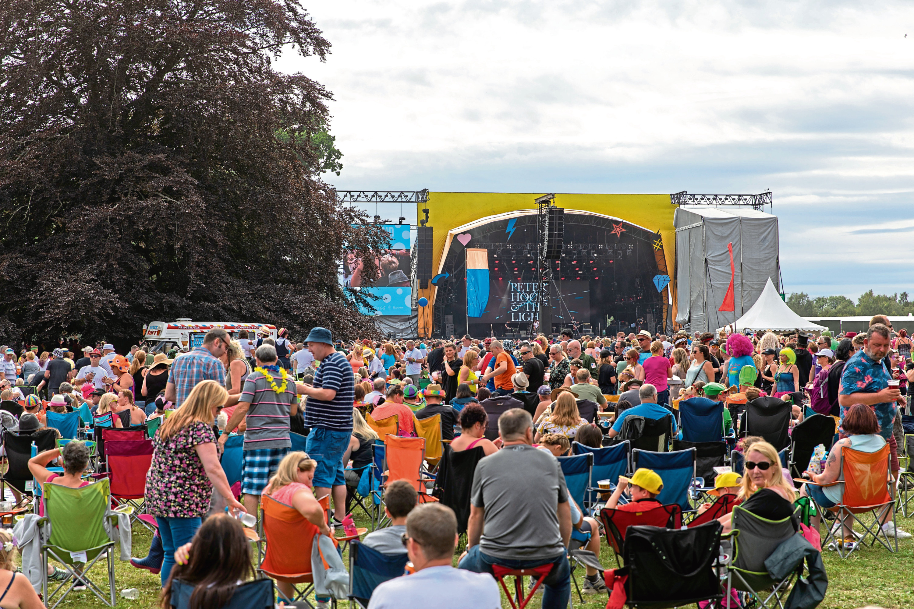Rewind Festival 2018 at Scone Palace, Perthshire