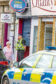Sbro - Courier News/Evening Tele - William Hill Robbery - CR0002684 - Broughty Ferry - Picture Shows: Police outside William Hill, Brook Street, Broughty Ferry after suspected robbery. - Monday 23rd July 2018