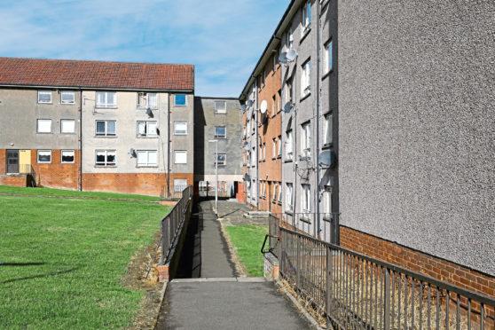 Leith Walk, Dundee. (stock image)