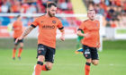 James Keatings in action for Dundee United