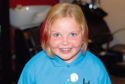 Annie's hair was cut off to raise money for Little Princess Trust charity