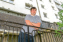 Barry Lamont, who stays in the Hilltown Court multi