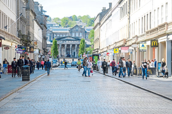Reform Street, Dundee (stock image)