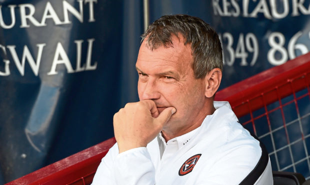 Former Dundee United manager Csaba Laszlo