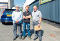 Concerned business owners, from left, Mushtaq Ahmed, Ian McDonald and Ian Cargill.