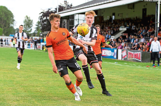 Matty Smith is hoping his display at Elgin City impressed his boss.