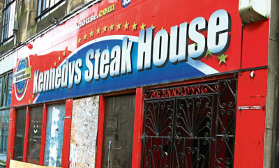 The former Kennedy's Steak House on Castle Street has been refurbished