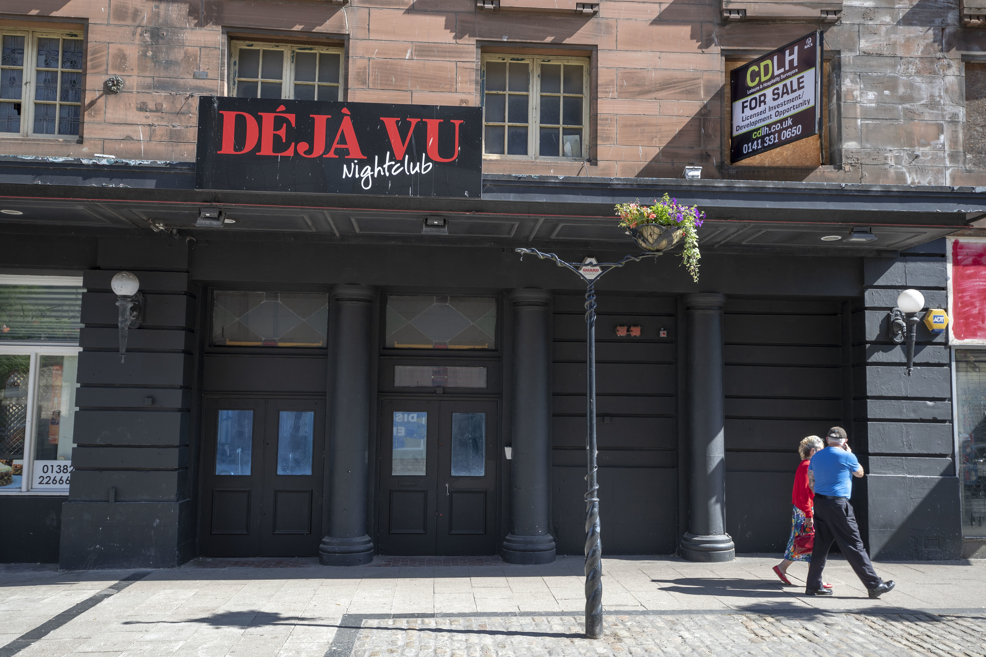 The theatre is currently the location for the Deja Vu nightclub