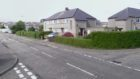 The junction of Abbotsford Road and Benedict Road, Arbroath (stock image)