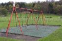 Swings at Lochee Park
