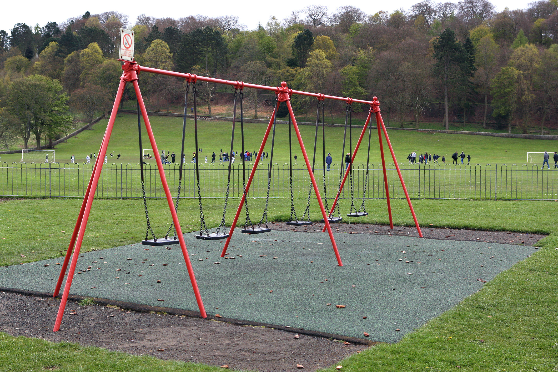 Swings at Lochee Park