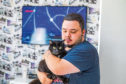 Shadow the cat with Alistair McCallum
