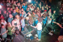 Kyle Falconer performs for a capacity crowd at Dundee venue Church last night.