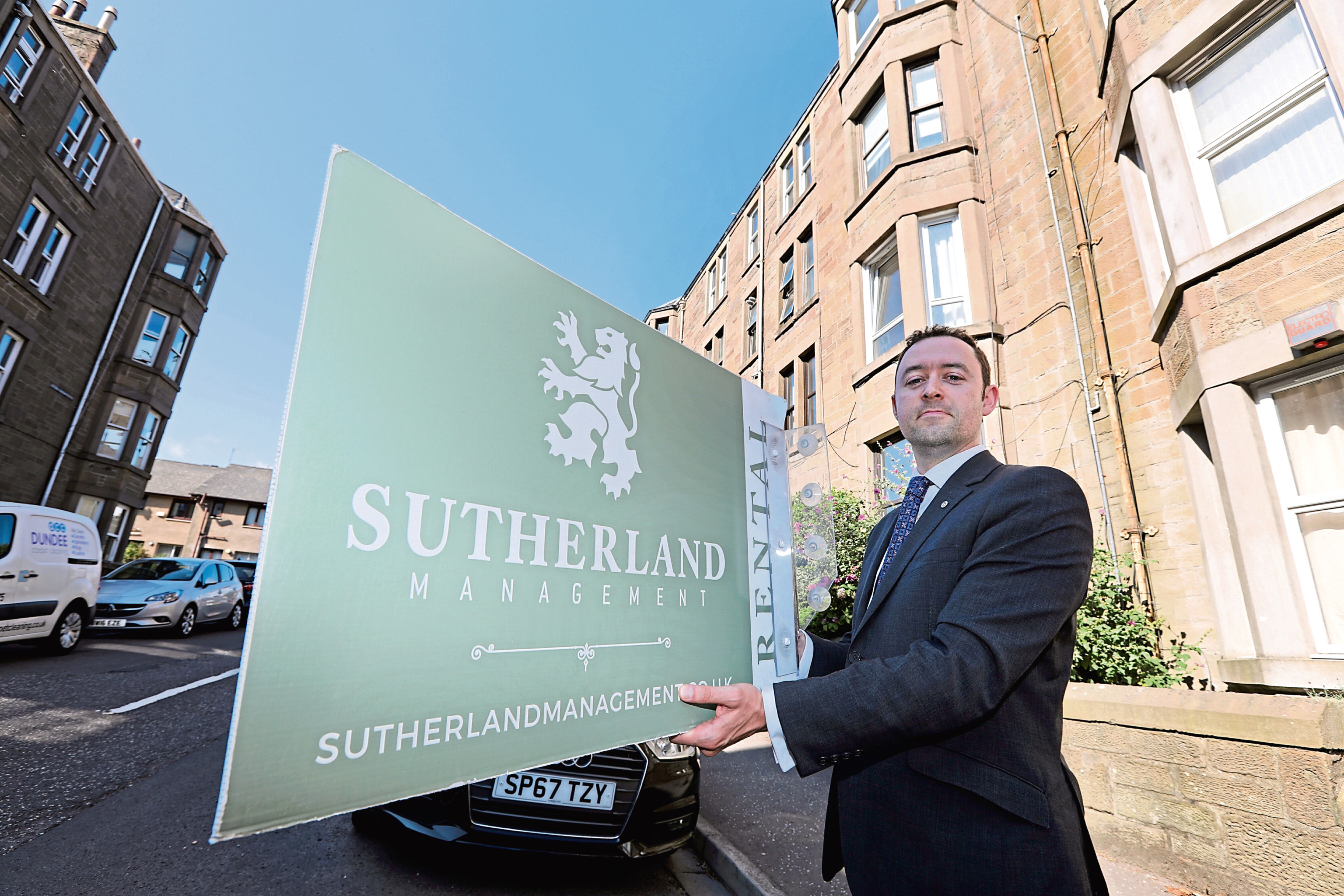 Allen Smith of Sutherland Property Management in Bellefield Avenue