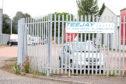 Signage still up in the Elliot Industrial Estate, Arbroath